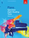 Specimen Sight-Reading Tests for Piano