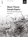 Music Theory Sample Papers, Grade 1