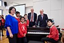 School Standards Minister Nick Gibb MP presents Classical 100 prize to winning school