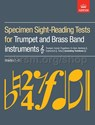 Specimen Sight-Reading Tests (treble clef)